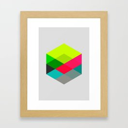 Hex series 3.2 Framed Art Print