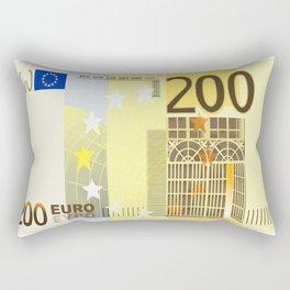200 Euro note Rectangular Pillow