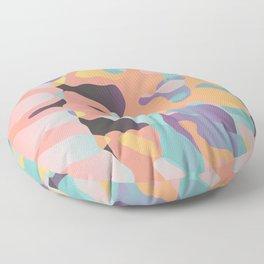 Planetary Fragmentation Floor Pillow