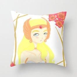 Princess of Power Throw Pillow