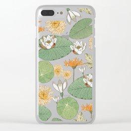 Vintage Royal Gardens #society6artprint #buyart Clear iPhone Case