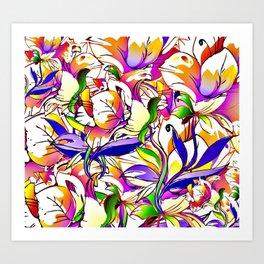 Pattern4248 Art Print