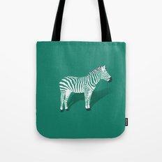 Animal Kingdom: Zebra III Tote Bag
