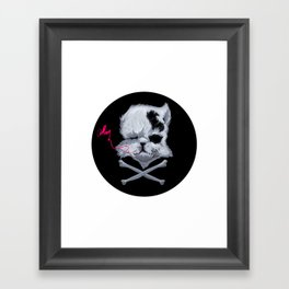 MURDERKITTEN Framed Art Print