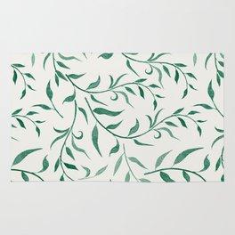 Leaves 4 Rug