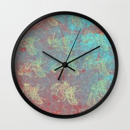 Cicada Stages Wall Clock