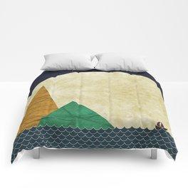 Moon for Ramona Comforters