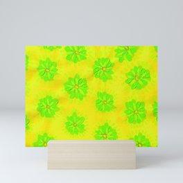 Lemon Lime Rose Mini Art Print
