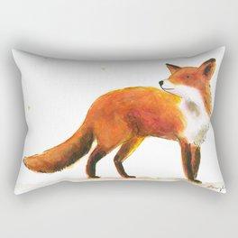 Fox & stars Rectangular Pillow