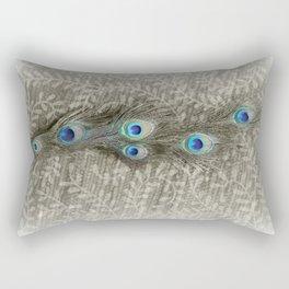 Peacock Summer Rectangular Pillow