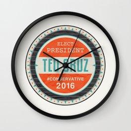Elect President Ted Cruz Wall Clock
