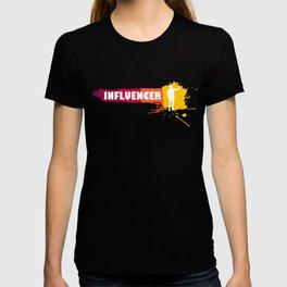 Creative Influencer Gift Idea T-shirt
