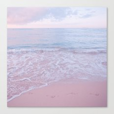 calm day 02 ver.pink Canvas Print