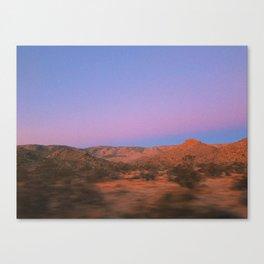 sunrise in JT Canvas Print