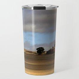 Rural Landscape and Farmhouse in Australia Travel Mug