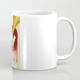 Hayabusa 2 Space Art. Coffee Mug