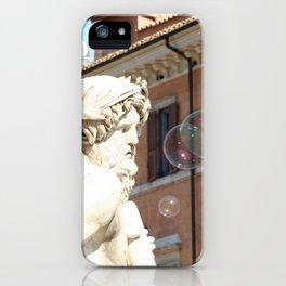 Bernini's Four Rivers Fountain iPhone Case