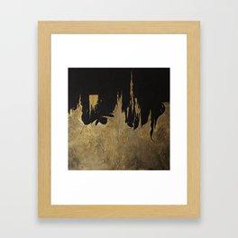 Build. Framed Art Print