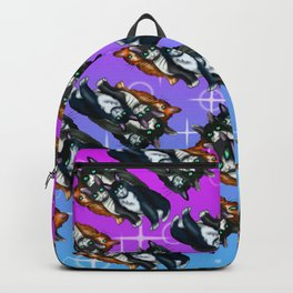 Be Different Black Cats Backpack