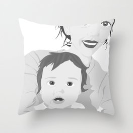 If You Would Only Move Like You Had Something To Lose Throw Pillow