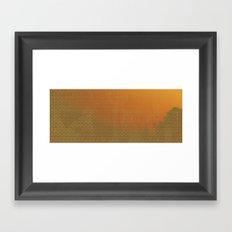 Morning Brightness Framed Art Print