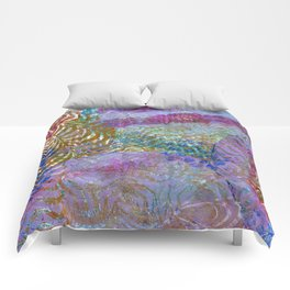 Feathered ripples Comforters