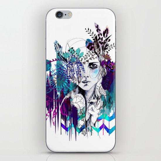 Tribal Girl - Colourway - iPhone & iPod Skin