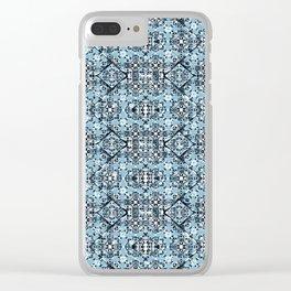 Luxury Oriental Ornate Pattern Clear iPhone Case
