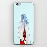 zuko iPhone & iPod Skins featuring Blue Blood by Cassius