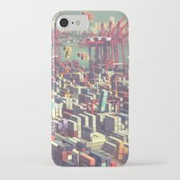 tetris iPhone & iPod Cases featuring Pier Tetris by Ivan Guerrero