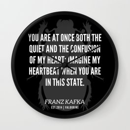 65 |  Franz Kafka Quotes | 190517 Wall Clock