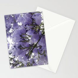 It's Raining Purple Cups Stationery Cards