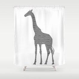 giraff Shower Curtain
