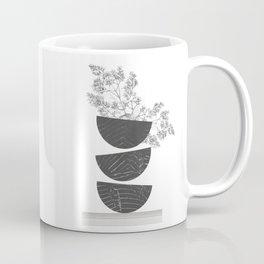 Vibration - Minimalism Mid-Century Modern Forms Coffee Mug