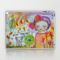 I am Brave ! Laptop & iPad Skin