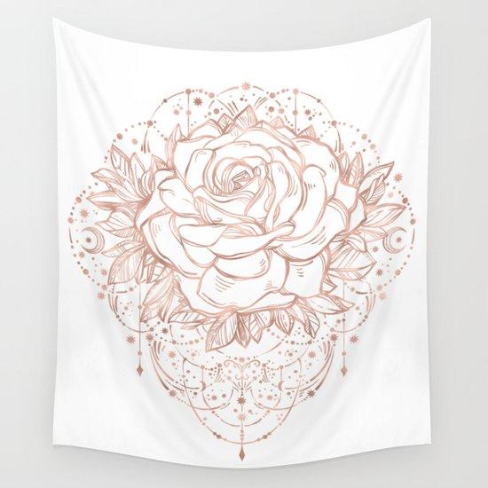 Mandala Lunar Rose Gold by naturemagick