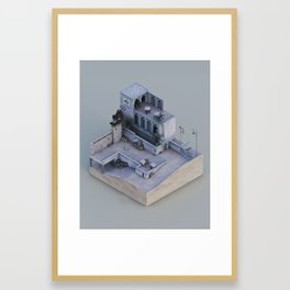 Bomb Has Been Planted 2.0 Framed Art Print