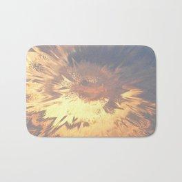 Sunset mandala explosion Bath Mat