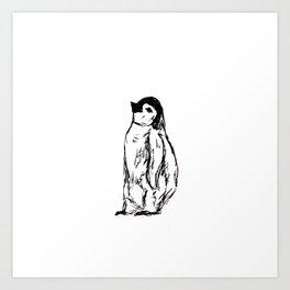 Peguin 3 Art Print