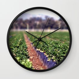 Strawberry Field Wall Clock