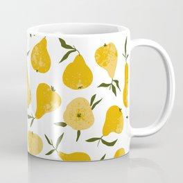 Yellow pear Coffee Mug