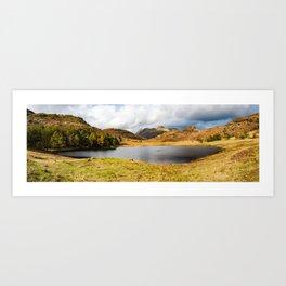 Blea Tarn in the English Lake District Art Print