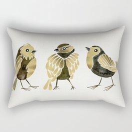 24-Karat Goldfinches Rectangular Pillow