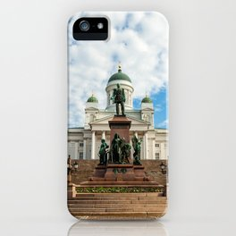 Helsinki 8 iPhone Case
