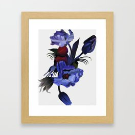 the end of the 20th century Framed Art Print