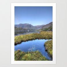 Ogwen's Pond Art Print
