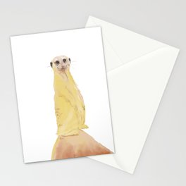 Meercat Study Stationery Cards