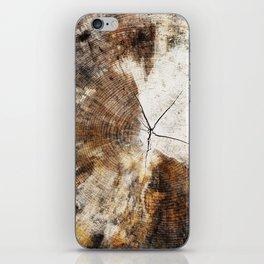 Tree Stump Ring iPhone Skin