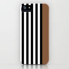 Liquorice allsorts, brown iPhone Case