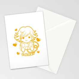 Kawaii Kiddies Cute Gamer Stationery Cards